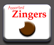 Assorted Zingers Button