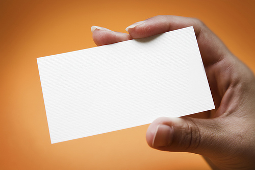 Employee Engagement on the Back of Your Business Card