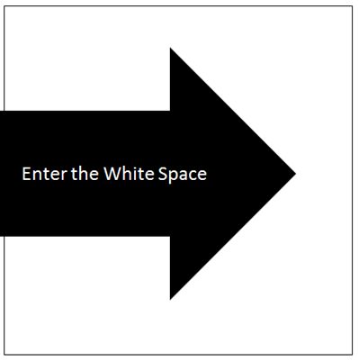 Enter the White Space of Work