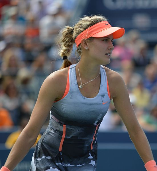 Eugenie Bouchard (source Wikipedia - Edwin Martinez