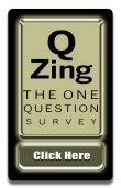 Q Zing Survey Button