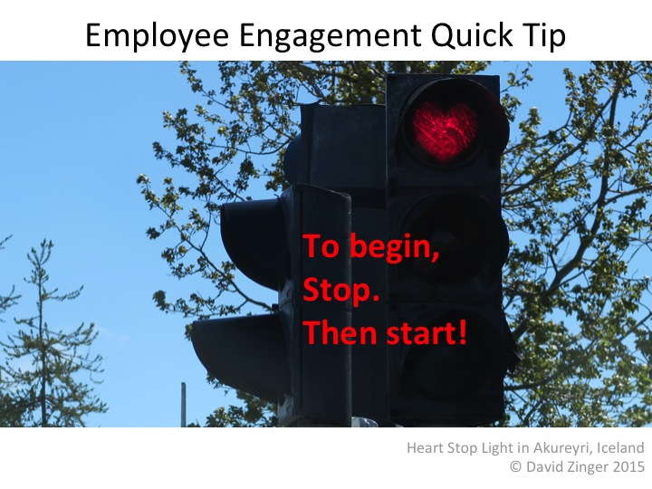 Stop for Employee Engagement