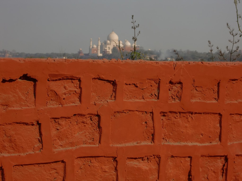 Wall and Taj